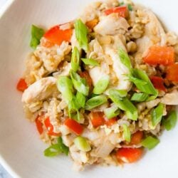 Clean-Eating Chicken Fried Rice
