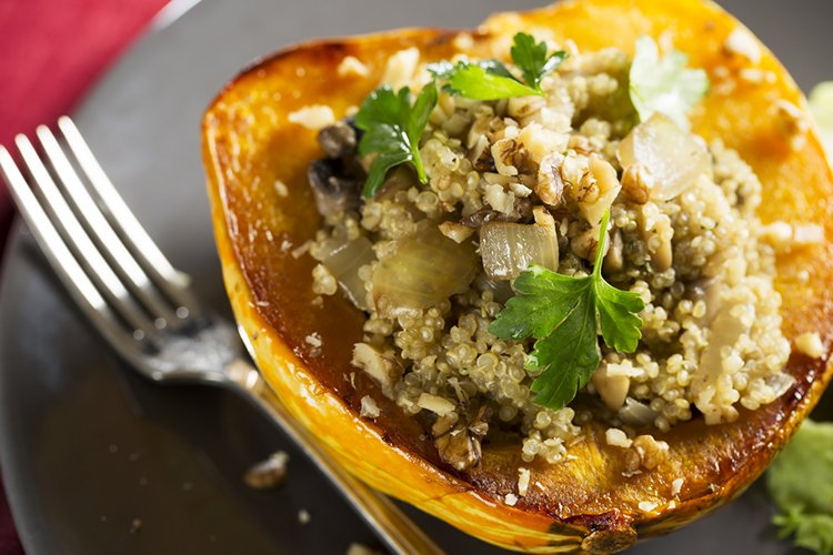 Quinoa Stuffed Squash Recipe