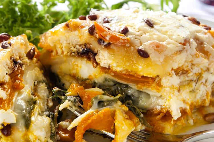 The Spinach Butternut Squash Lasagna