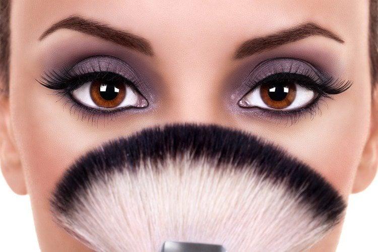 10 удивительных советов по макияжу для карих Глаз23