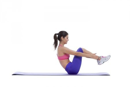 7-Minute Flat Abs Challenge