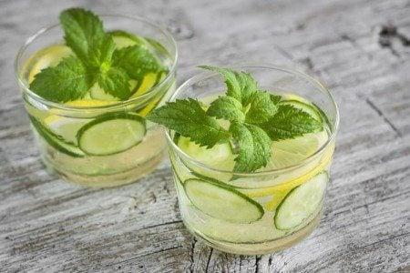 Cleansing Cucumber Lemonade