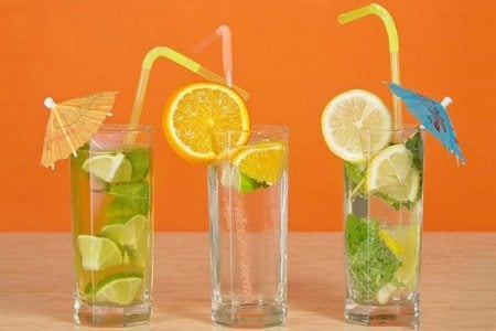 Stay Cool this Summer with Flavored Waters