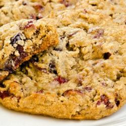 Oatmeal Cranberry Walnut Cookies