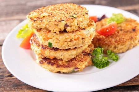 Quinoa Veggie Cakes
