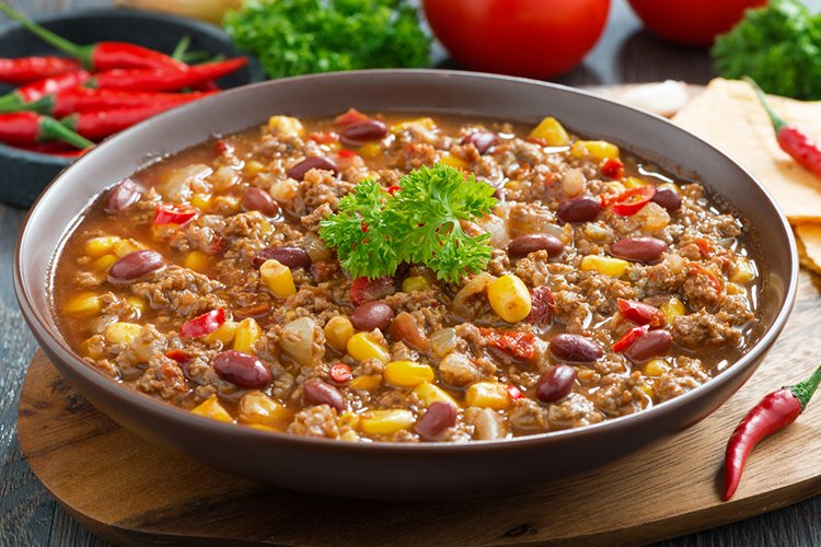 Slow Cooker Fiesta Chili Supper Recipe