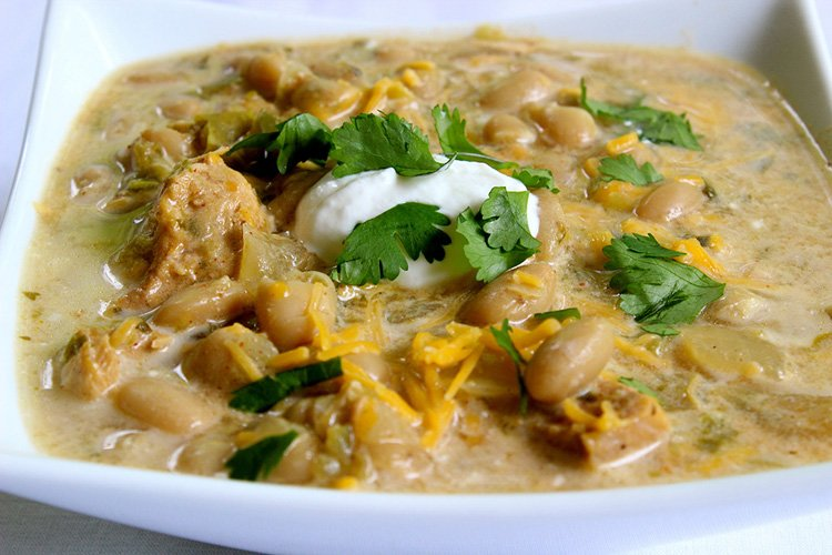 Slow Cooker White Bean & Chicken Chili