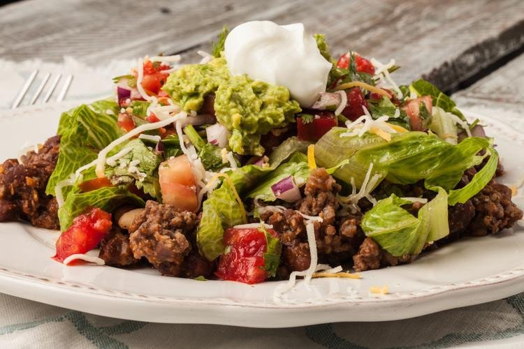 Clean Eating Taco Salad Recipe