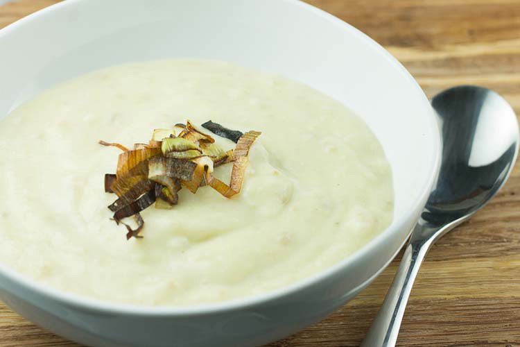 Crockpot Potato Leek Soup Recipe