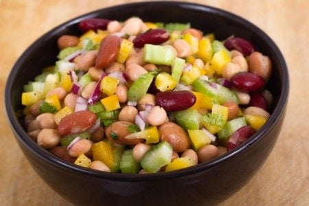 Mixed Bean and Vegetable Salad
