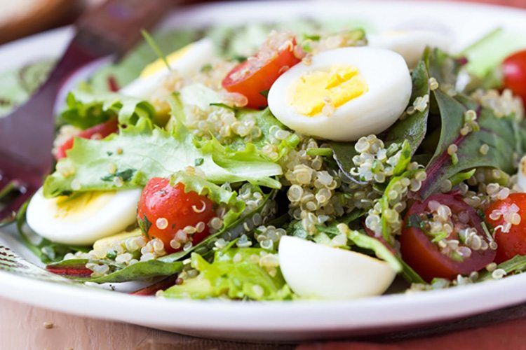 Protein Cobb Salad with Quinoa