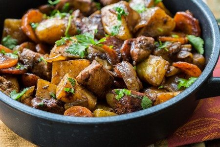 Skillet Chicken and Veggies