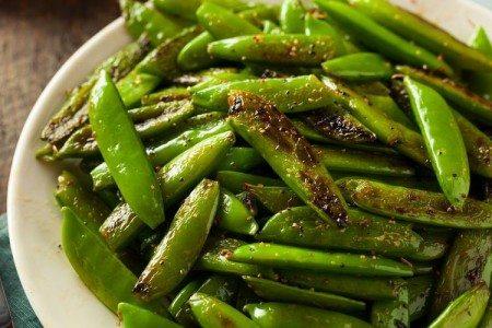 Stir-Fried Snap Peas