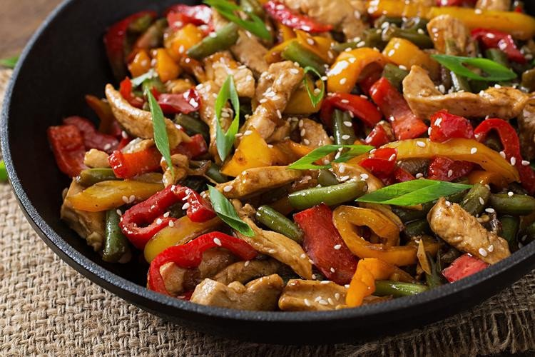 15 high protein low carb dinner recipes stir fry sesame chicken forumfinder Image collections