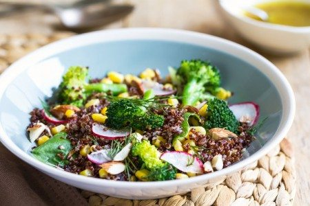 Quinoa and Broccoli Salad