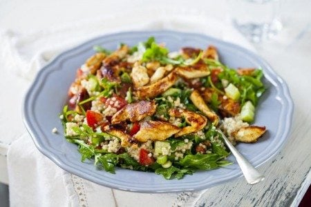 Seared Chicken and Quinoa Salad