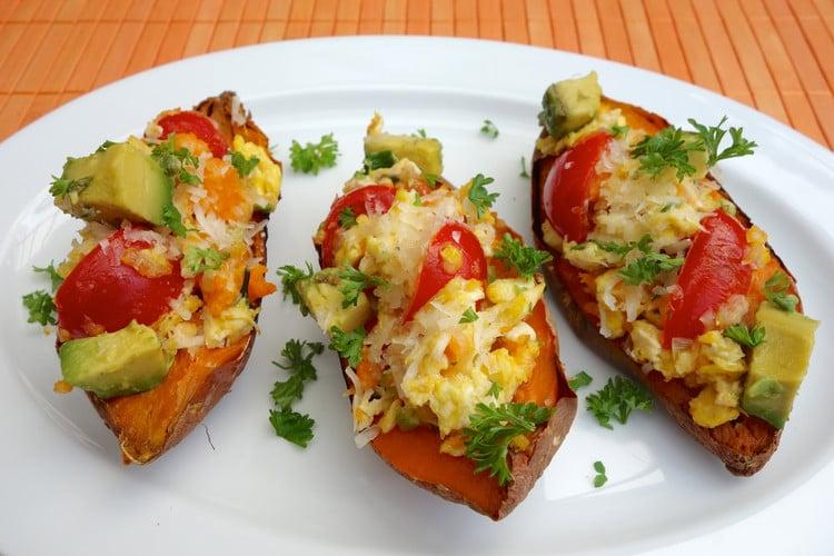 5-Ingredient Breakfast Sweet Potatoes
