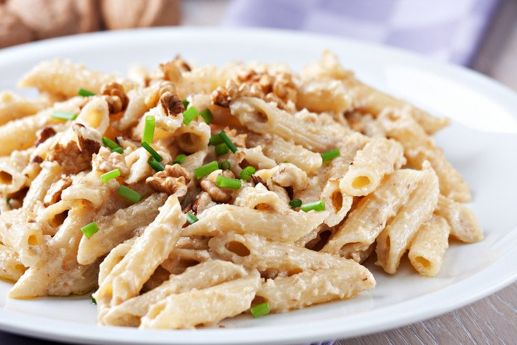 5-ingredient Walnut Cream Sauce