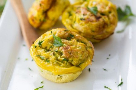 Breakfast Egg & Veggie Muffins