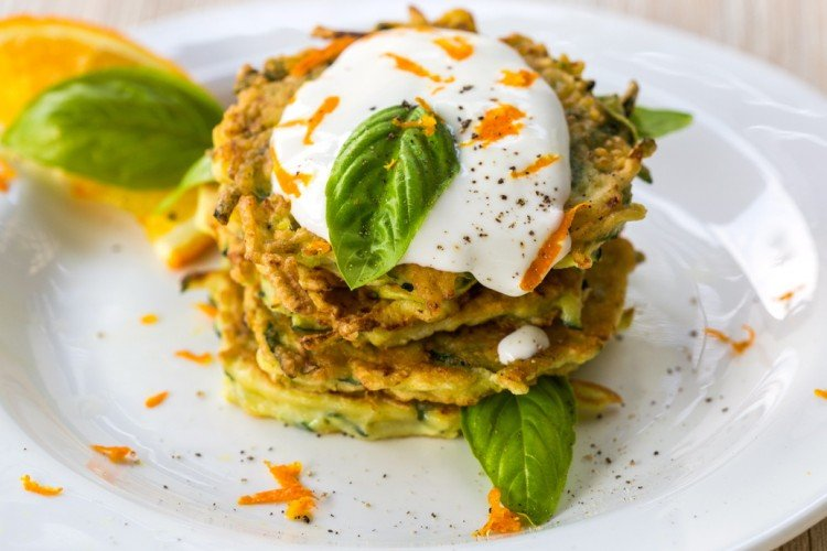 Easy Zucchini Fritters Recipe