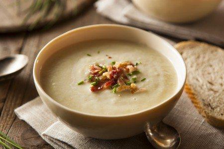 Crockpot Potato Leek Soup