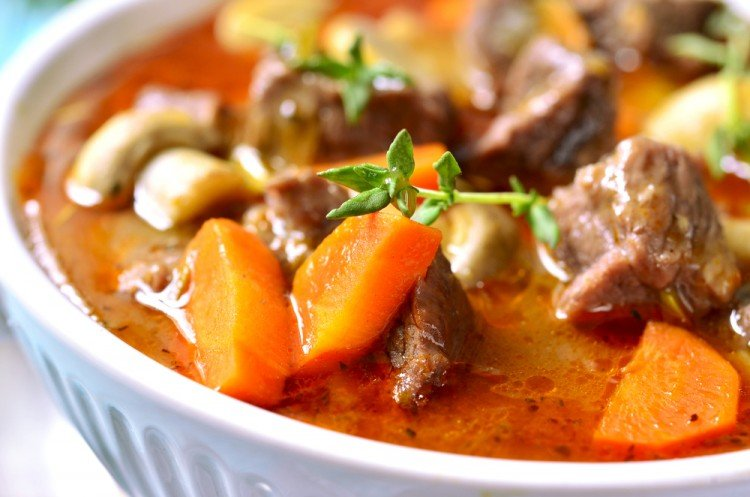 Slow Cooker Low-Fat Beef Stew Recipe