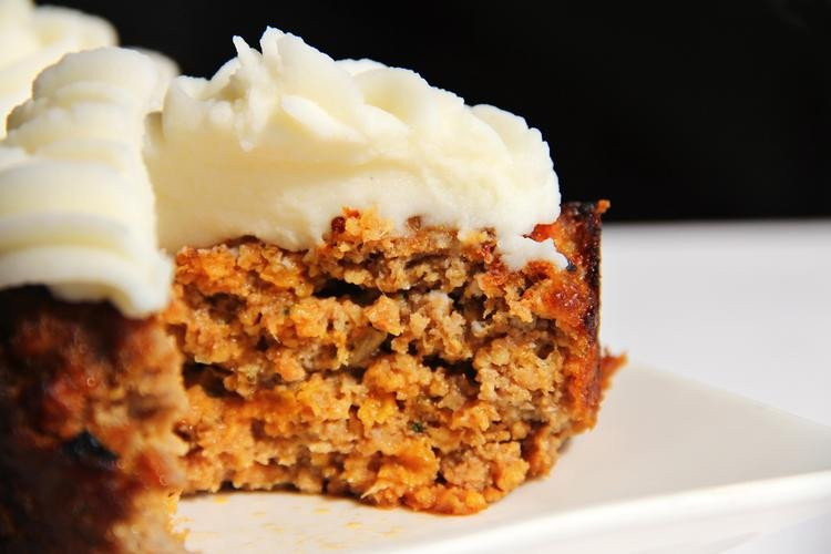 Turkey Meatloaf Cupcakes With Mashed Potatoes