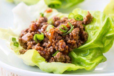 Best Ever Chicken Lettuce Wraps