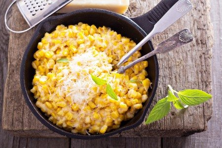 Cheesy Fresh Sweet Corn