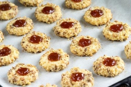 Clean Eating Thumbprint Cookies