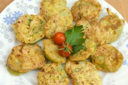 "Oven-Baked ""Fried"" Green Tomatoes"