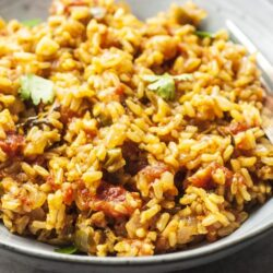 skinny mexican rice vegan-friendly