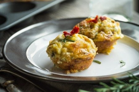 Sun-Dried Tomato & Egg Muffins