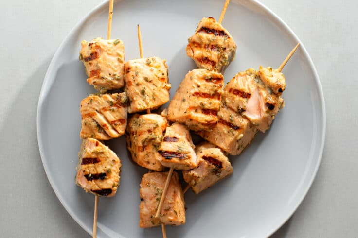 Make our Grilled Salmon Kebabs for an ultra-healthy, low-carb dinner.