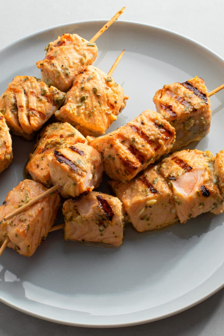Make these kebabs for dinner and enjoy the leftovers as a healthy lunch the following day!