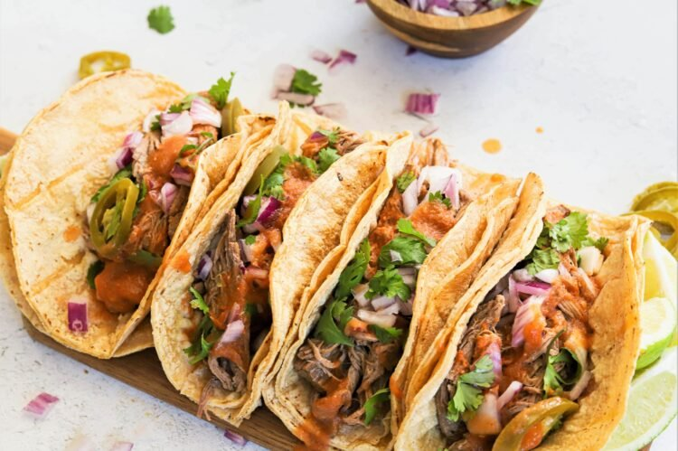 Immerse yourself in these Tex Mex tacos that are sure to become a favorite for taco night!
