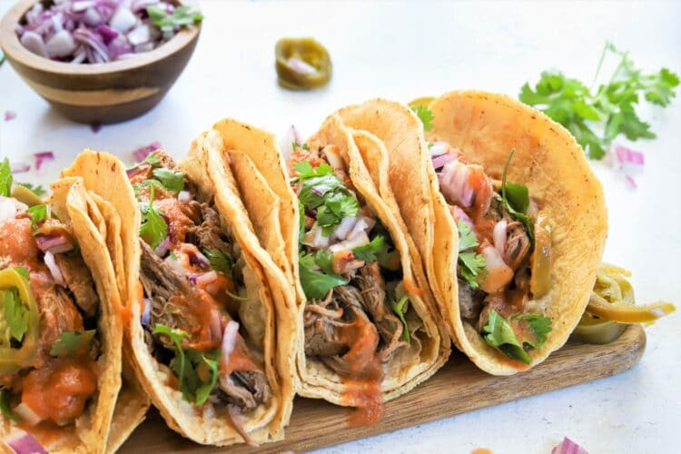 Our tasty beef taco recipe is perfect for a healthy taco Tuesday!