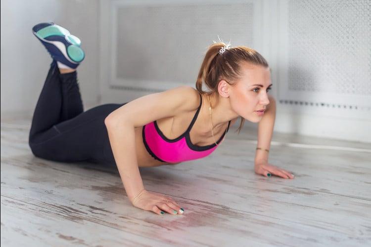 Equipment free upper body workout