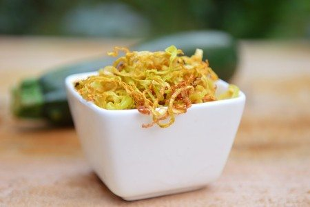 Crunchy Zucchini Topping