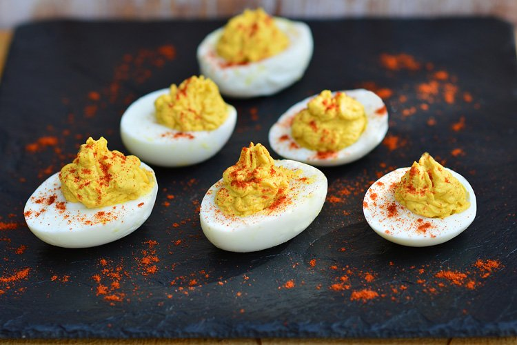 Summer 15 Fast and Easy Snack Deviled Egg