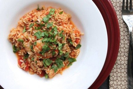 Slow Cooker Jambalaya with Chicken and Shrimp