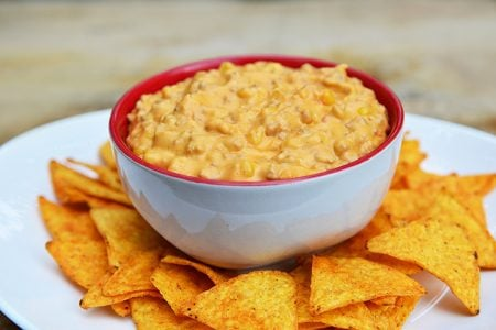 5-Ingredient Cheesy Meat Dip