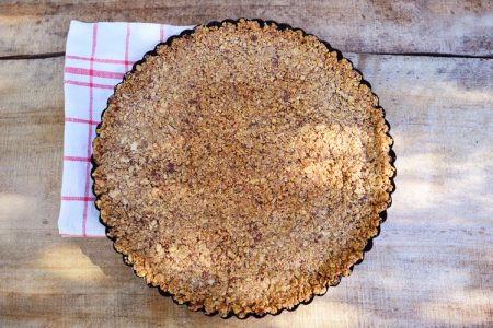Almond Crumb Pie Crust
