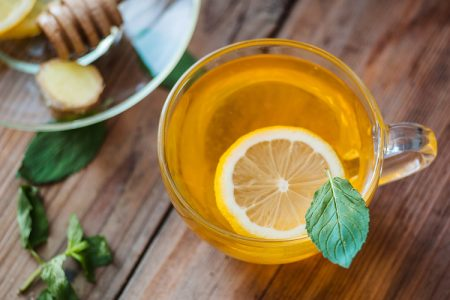 Ginger Mint Detox Herbal Tea