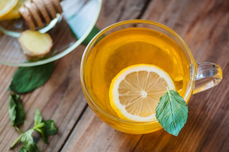 A tasty tea to help you detox and calm your nerves!