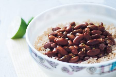 Lime Rice and Beans