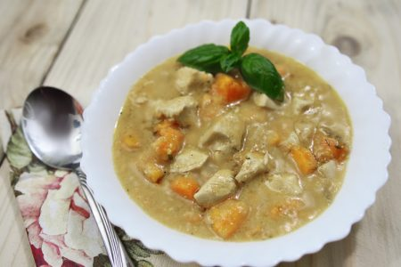 Slow Cooker Cream of Chicken Stew