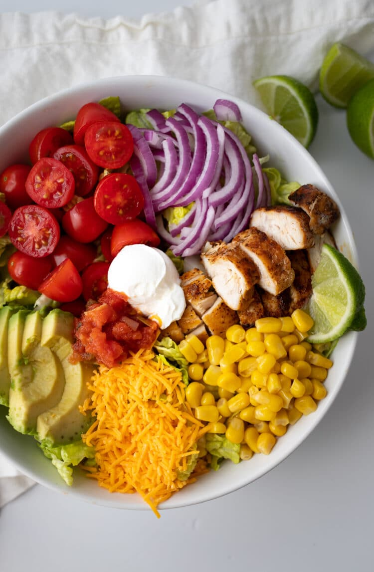 This yummy salad is a great healthy swap for taco night.