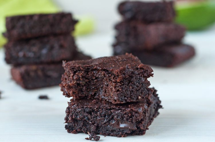 avocado brownies for stress relief
