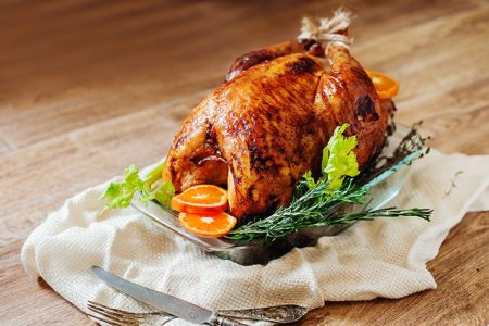 Orange Glazed Herb Turkey
